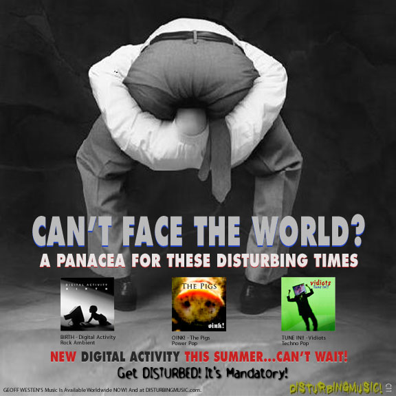Can't Face The World Graphic
